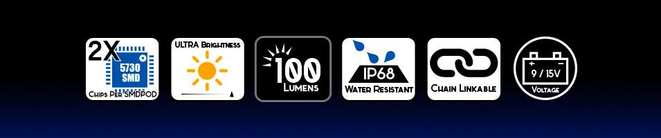 Generation 5 G5 HID Xenon Conversion Kits Color Temperatures