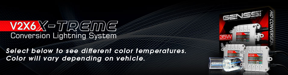 Generation 5 G5 HID Xenon Conversion Kits Color Temperatures
