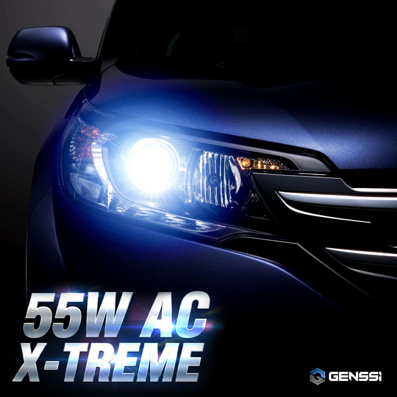 GENSSI AC 55W HID Kit H4 H7 H11 H13 9003 9005 9006 9007