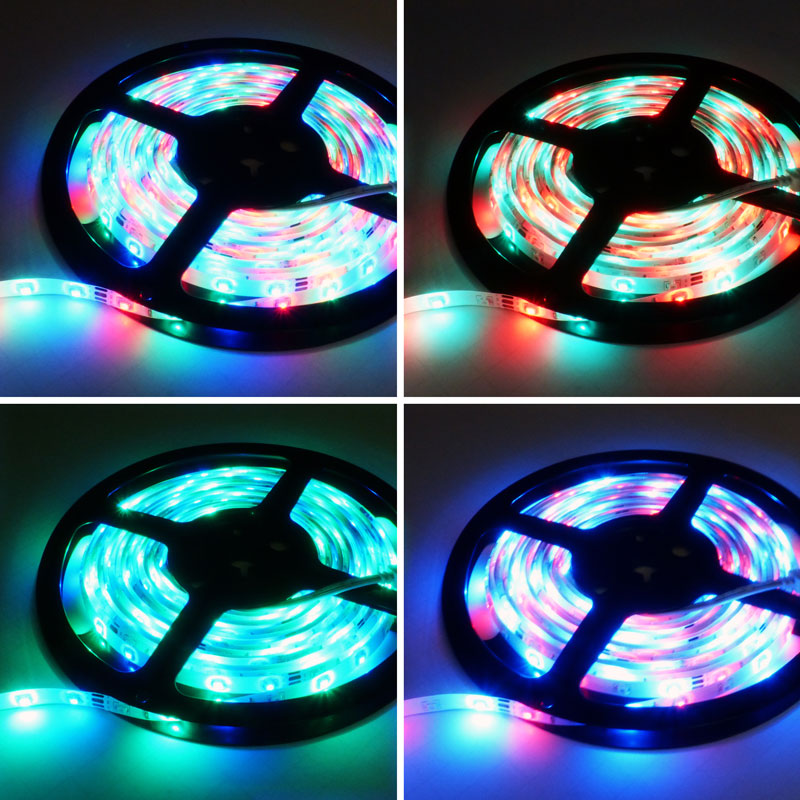 5050 Led Ribbon Lights: 5M 300 LED Flexible Tape Strip 5050 SMD Waterproof 3528