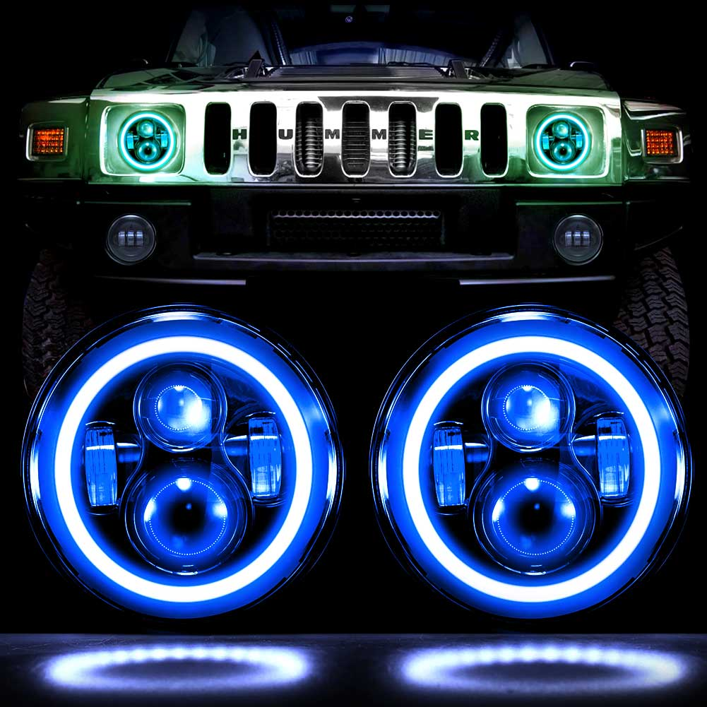 7LED-CHASE-RGB Light on the road