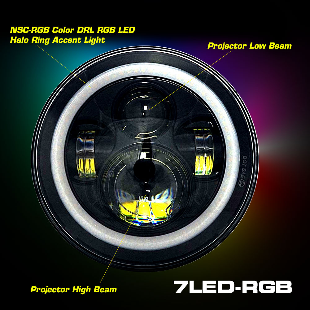 7LED-CHASE-RGB Demon Eyes and Music Features Image