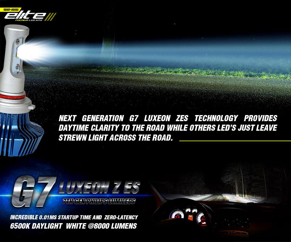 Genssi Elite Led Headlight Bulb Conversion Kit For Mack